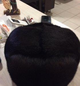 Норковая шапка ( новая)