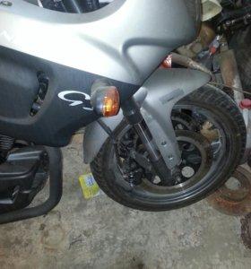 Новый мотоцикл спорт байк