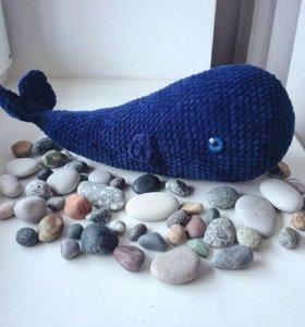 Вязаный кит