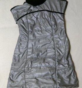 Платье безрукавка
