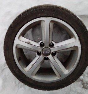 Оригинальные литые диски Audi