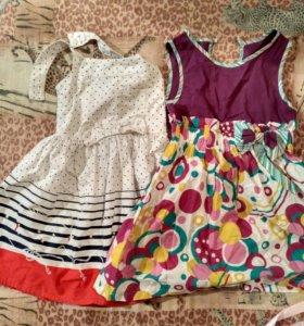 Платье и сарафан на рост 104-110.