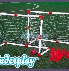 Набор футбольные ворота в наличии