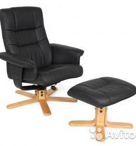 Кресло + пуф в наличии новое