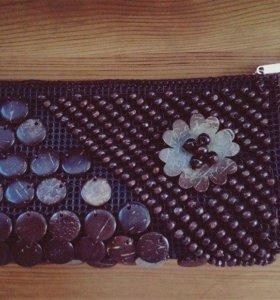 Handmade сумка CHOCOLATE
