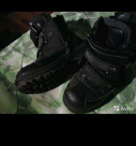 Ботинки, зима.