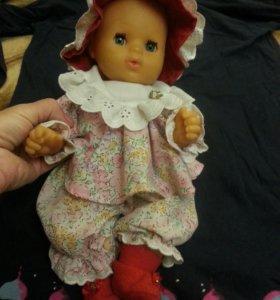 Кукла пупс Италия с набором одежды