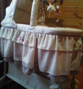 Детская кроватка колыбелька