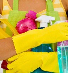 Мытьё потолков, уборка