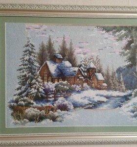 """Картина """"Загородный дом"""""""