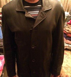 Мужская кожаная куртка(пиджак)