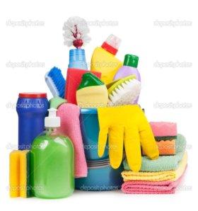 Сезонное мытье окон,повседневная и генуборка!