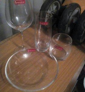 Бокалы, стаканы, салатники Spiegelau Германия