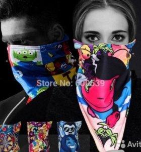 Горнолыжная маска - шарф