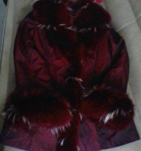 Очень тёплая зимняя куртка