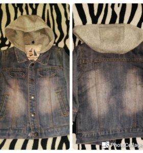Куртка из джинсы.2-4 года.