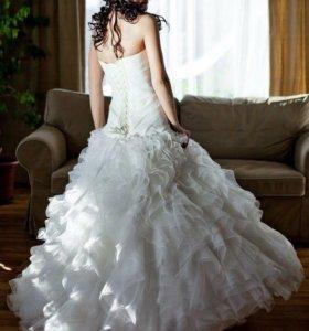Свадебное платье +бесплатно фота, монто, подъюбник