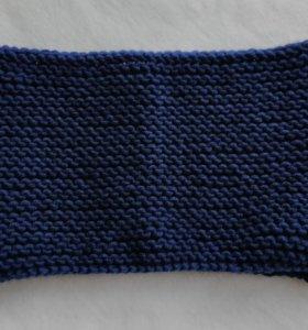 Снуд-шарф на взрослого и рнбенка