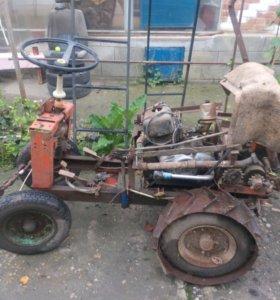 Трактор-самодельный
