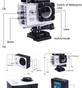 Новая экшн камера go pro hero 4 full hd