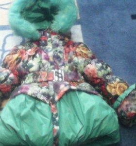 Детская зимняя куртка