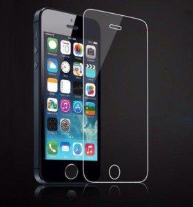 Защитное стекло на iPhone 5,5C,5S,5SE 📲