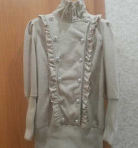 Туника,  пальто, платье