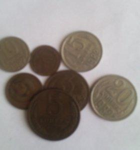 Монеты СССР 1982г.в.