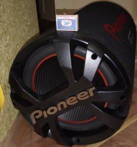 Сабвуфер Pioneer ts wx304t
