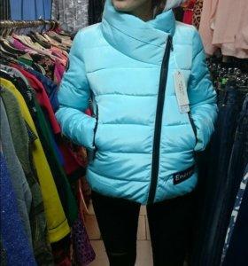 Куртка зима осень на синтепоне