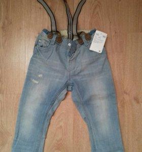 Новые джинсы hm 92р