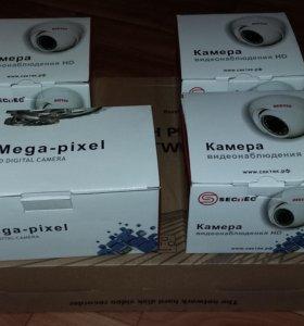 Комплект из 4х камер и видеорегистратора НОВЫЙ