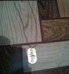 Ожерелье брелок браслет из игр DOTA 2 и CS GO