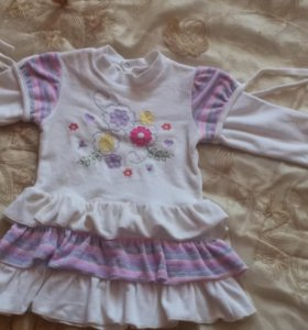Детское платье, сарафан,кофточка