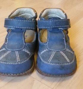 Ботинки Капика кожа