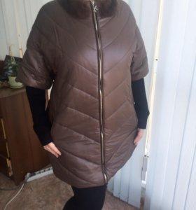 Пальто 💨❄️⛈зимнее большие размеры
