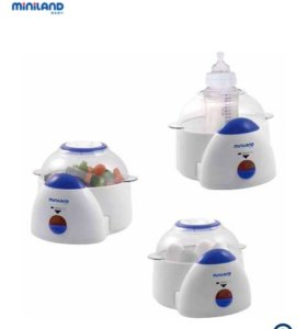 Стерилизатор бутылочек (Super 3 deco Miniland)