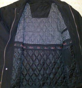 Куртка с подстёжкой.