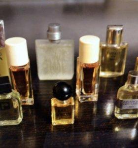Мужской парфюм миниатюры винтаж