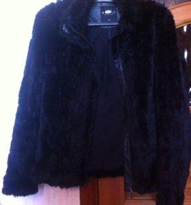 Искусственная шуба- куртка MOHITO