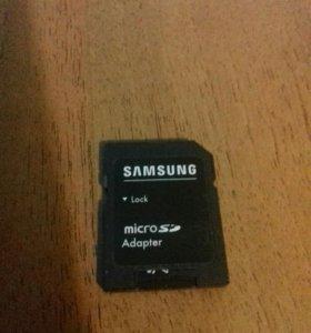 Карта памяти micro SD 4 гб