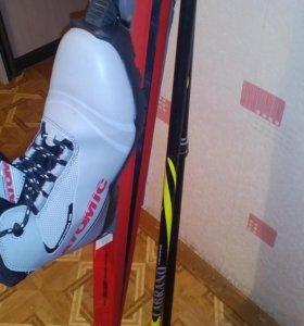Лыжи пластиковые беговые новые