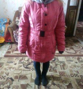 Продаю зимние куртки , пальто и платья .