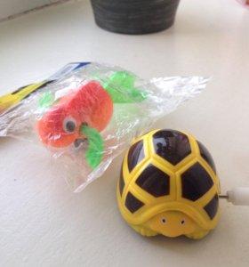 Новые заводные игрушки