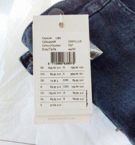 Новая джинсовая юбка 50