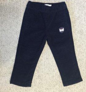 Новые вельветовые штанишки