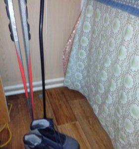 Лыжи с ботинками автомат