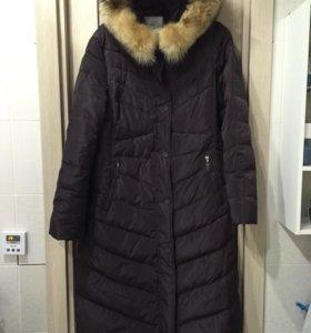 Пуховик пальто новое размер 50