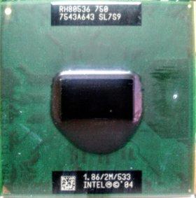 Процессор Intel Celeron 540(1M, 1,86GHz, 533Mhz)