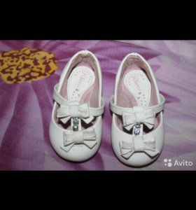 Белые туфельки размер 20 (12см)